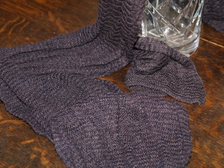 Silky-soft scarf