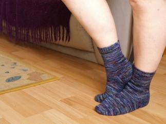 Modelled socks